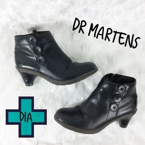 """Dr Martens """"Dia"""" Smooth Leather Palatino Boot Sz 6"""